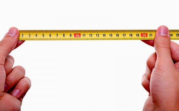 18 cm é grande ou pequeno
